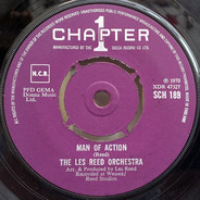 Les Reed And His Orchestra - Man Of Action / Lest We Forget