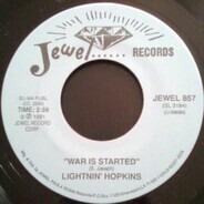 Lightnin' Hopkins - War Is Started / Louisiana Woman