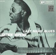 Lightnin' Hopkins With Sonny Terry - Last Night Blues