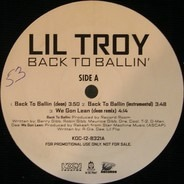 Lil' Troy - Back to Ballin'