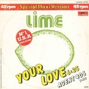 Lime - Your Love / Agent 406