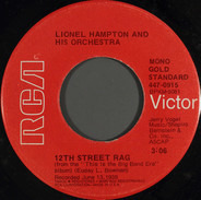 Lionel Hampton And His Orchestra - 12th Street Rag / China Stomp