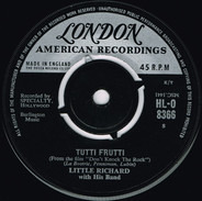Little Richard And His Band - Tutti Frutti