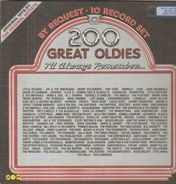 Little Richard / Jay & The Americans / Bobby Goldsboro etc. - 200 Great Oldies I'll Always Remember...
