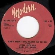Little Richard And His Band - Baby What You Want Me To Do