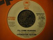 Livingston Taylor - I'll Come Running