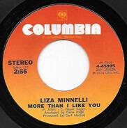 Liza Minnelli - More Than I Like You