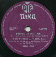 Lonnie Donegan's Skiffle Group - Putting On The Style / Gamblin' Man