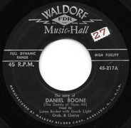 Loren Becker with Enoch Light / Knuckles O'Toole - The Song Of Daniel Boone (The Daddy Of Them All)