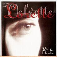 Lorette Velvette - White Birds