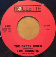 Lou Christie - The Gypsy Cried / Red Sails In The Sunset
