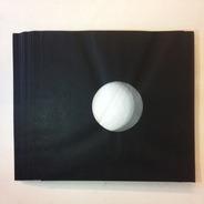 LP Innenhuellen - schwarz, 10 Stück gefüttert antistatisch