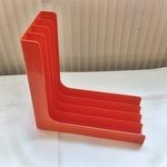 LP-Winkel, 70er Jahre - in orange,  für ca. 30 LPs