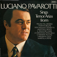 Luciano Pavarotti - Tenor Arias From Italian Opera