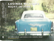 Lucinda Williams - Right In Time