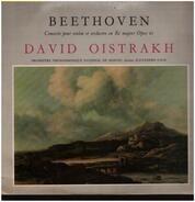 Ludwig Van Beethoven - David Oistrach , Большой Симфонический Оркестр Всесоюзного Радио , Alexander - Concerto Pour Violon Et Orchestre En Ré Majeur Opus 61