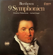 Ludwig van Beethoven - Dresdner Philharmonie , Herbert Kegel - 9 Symphonien