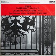 Beethoven - Symphony No.2 In D / Leonora Overture No.2