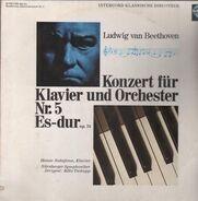Ludwig van Beethoven , Hanae Nakajima , Nürnberger Symphoniker , Räto Tschupp - Konzert Für Klavier Und Orchester Nr. 5 Es-dur Op. 73