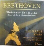 Ludwig van Beethoven /Lili Kraus , Orchester Der Wiener Staatsoper ,  Victor Desarzens - Klavierkonzert Nr. 4 In G-Dur op. 58 / Rondo In B-Dur Für Klavier Und Orchester