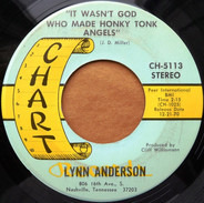 Lynn Anderson - It Wasn't God Who Made Honky Tonk Angels