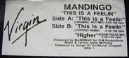 Mandingo - This Is A Feelin'