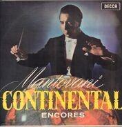 Mantovani And His Orchestra - Mantovani Continental Encores