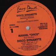 Manuel 'Chico' Soul Brother - Disco Dinamyte