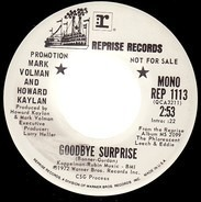 Mark Volman And Howard Kaylan - Goodbye Surprise