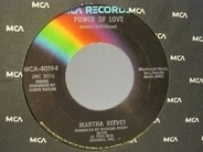 Martha Reeves - Power Of Love / Stand By Me