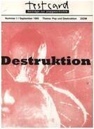 Martin Buesser - Testcard, Nr.1, Pop und Destruktion