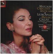 Mascagni / Leoncavallo - Callas - Cavalleria Rusticana / Pagliacci,, Callas, Di Stefano, Panerai, Gobbi, Scala, Serafin