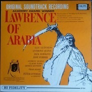 Maurice Jarre With The London Philharmonic Orchestra - Original Soundtrack Recording:  Lawrence Of Arabia