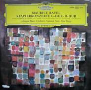 Ravel - Klavierkonzerte G-dur · D-dur