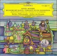Maurice Ravel / Modest Mussorgsky - Maurice Ravel , Berliner Philharmoniker • Herbert von Karajan - Bolero / Tableaux D'une Exposition