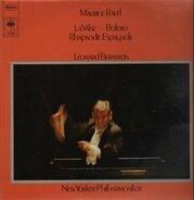 Maurice Ravel/ L. Bernstein, New Yorker Philharmoniker - La Valse -  Bolero - Rhapsodie Espagnole