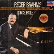 Max Reger , Johannes Brahms , Jorge Bolet - Variationen Und Fuge Über Ein Thema Von Telemann / Variationen Und Fuge Über Ein Thema Von Händel