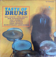 Max Roach , Phil Kraus , Bobby Rosengarden , Osie Johnson , Larry Bunker , Johnny Pacheco , Alvin S - Taste Of Drums
