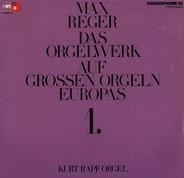 Reger - Das Orgelwerk Auf Grossen Orgeln Europas 1. (Kurt Rapf Orgel)