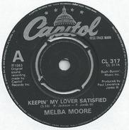 Melba Moore - Keepin' My Lover Satisfied