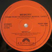 """Menage - Memory (Theme From The Broadway Musical """"Cats"""")"""