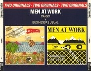 Men At Work - Cargo & Business As Usual - Two Originals