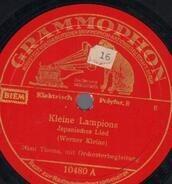 Mimi Thoma - Kleine Lampions / Vorbei
