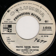 Molly Goldberg & Red Buttons - Practice, Darling, Practice / My Mother's Lullaby