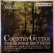 Monroe Brothers - Country Guitar Vol. 15