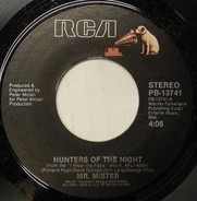 Mr. Mister - Hunters Of The Night / I Get Lost Sometimes