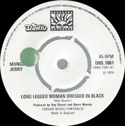 Mungo Jerry - Long Legged Woman Dressed In Black