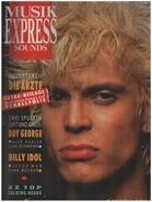 Musikexpress Sounds - 10/86 - Billy Idol