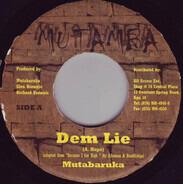 Mutabaruka - Dem Lie