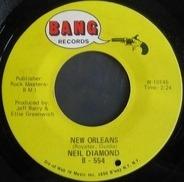 Neil Diamond - New Orleans / Hanky Panky
